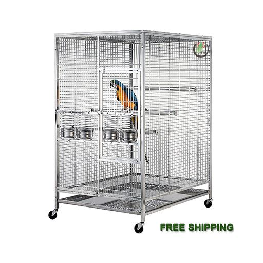 36x48B - 304 Stainless Steel Bird Cage