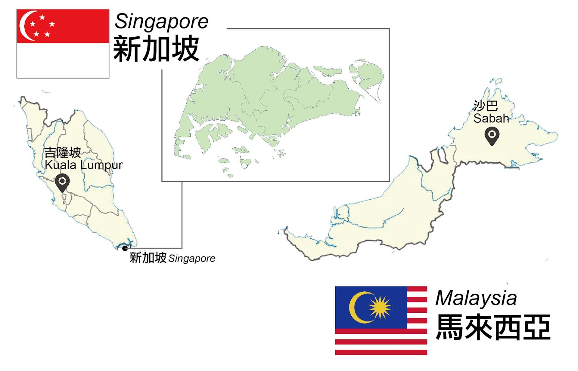 新加坡與馬來西亞