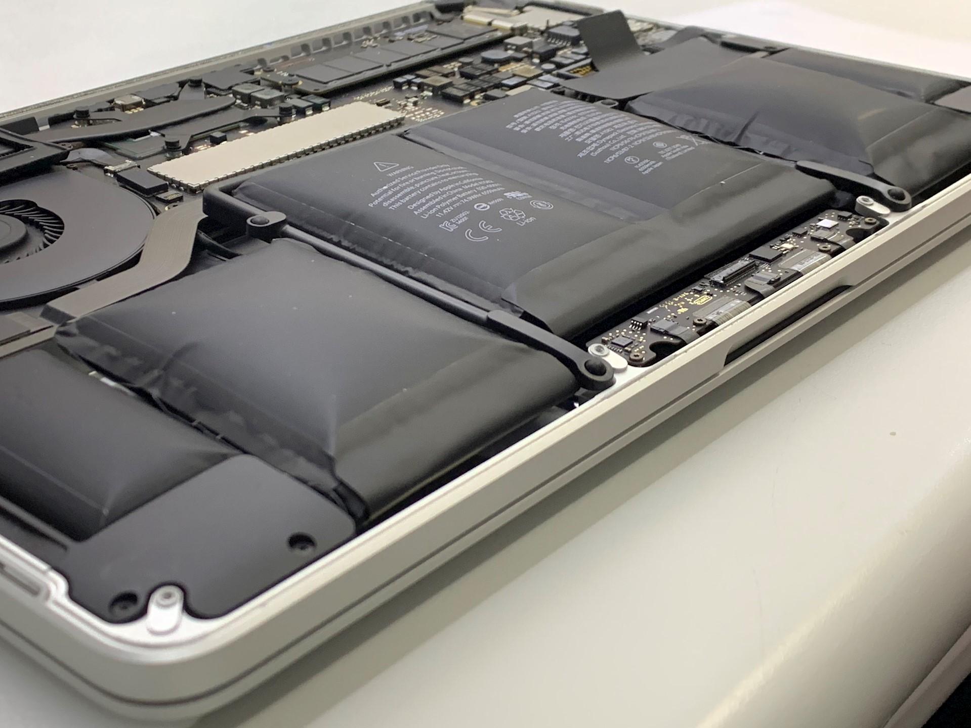 MacBook電池膨脹